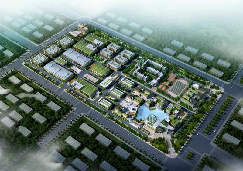 朗科国际存储科技产业园整体建筑设计